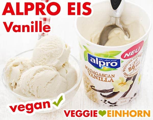 Veganes Vanille Eis von Alpro