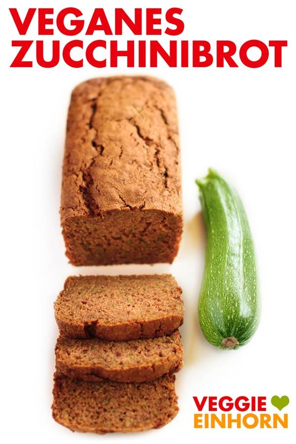 Veganes Zucchinibrot