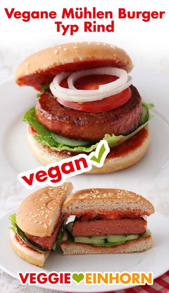Vegane Burger von Rügenwalder Mühle