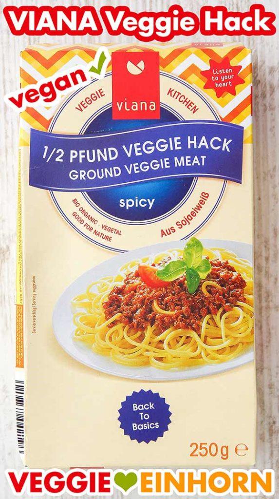 Eine Packung Veggie Hack von Viana
