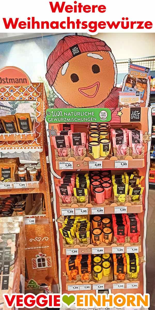 Weihnachtsgewürze von Just Spices im Supermarkt