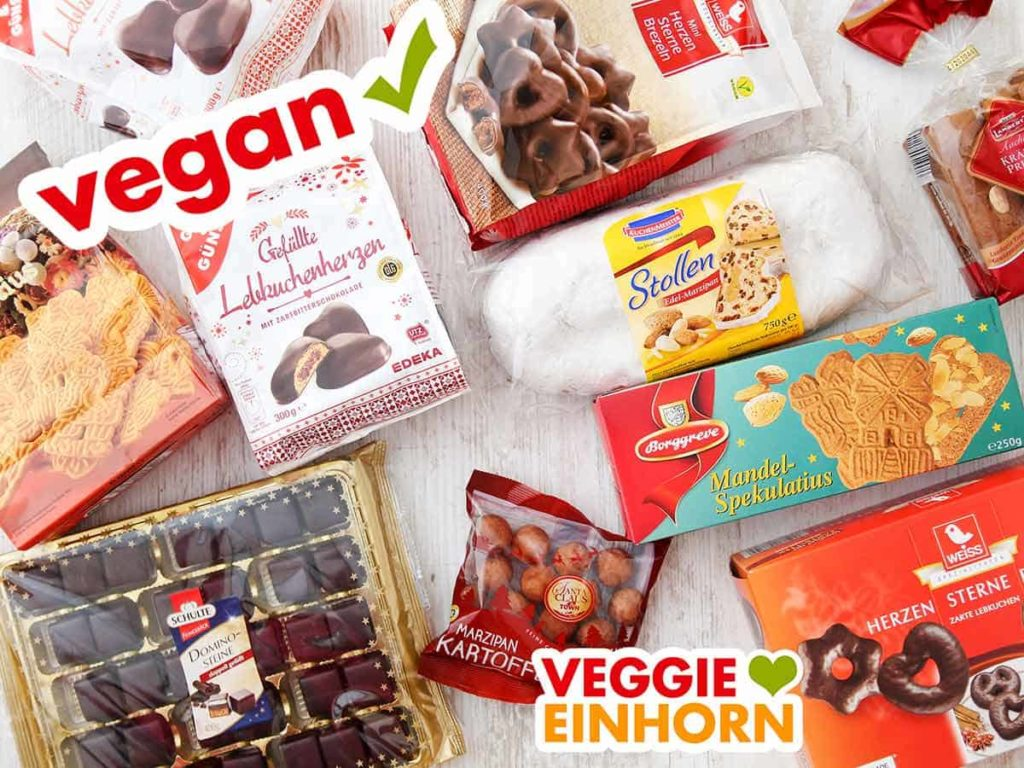 Weihnachtssüßigkeiten vegan