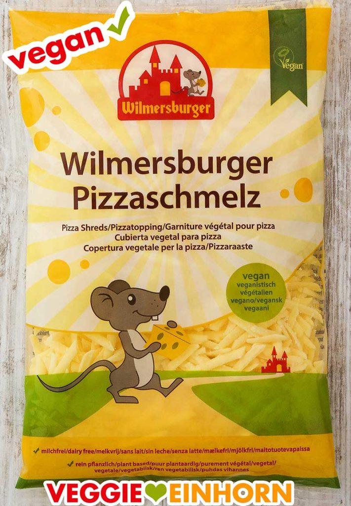 Eine Packung Wilmersburger Pizzaschmelz