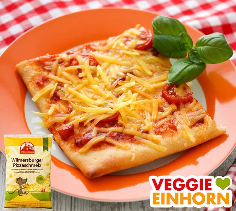 Wilmersburger Pizzaschmelz schmilzt nicht auf Pizza