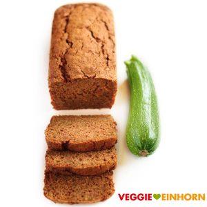 Zucchinibrot vegan