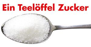 Ein Teelöffel Zucker