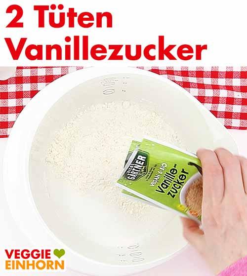 Zwei Tüten Vanillezucker