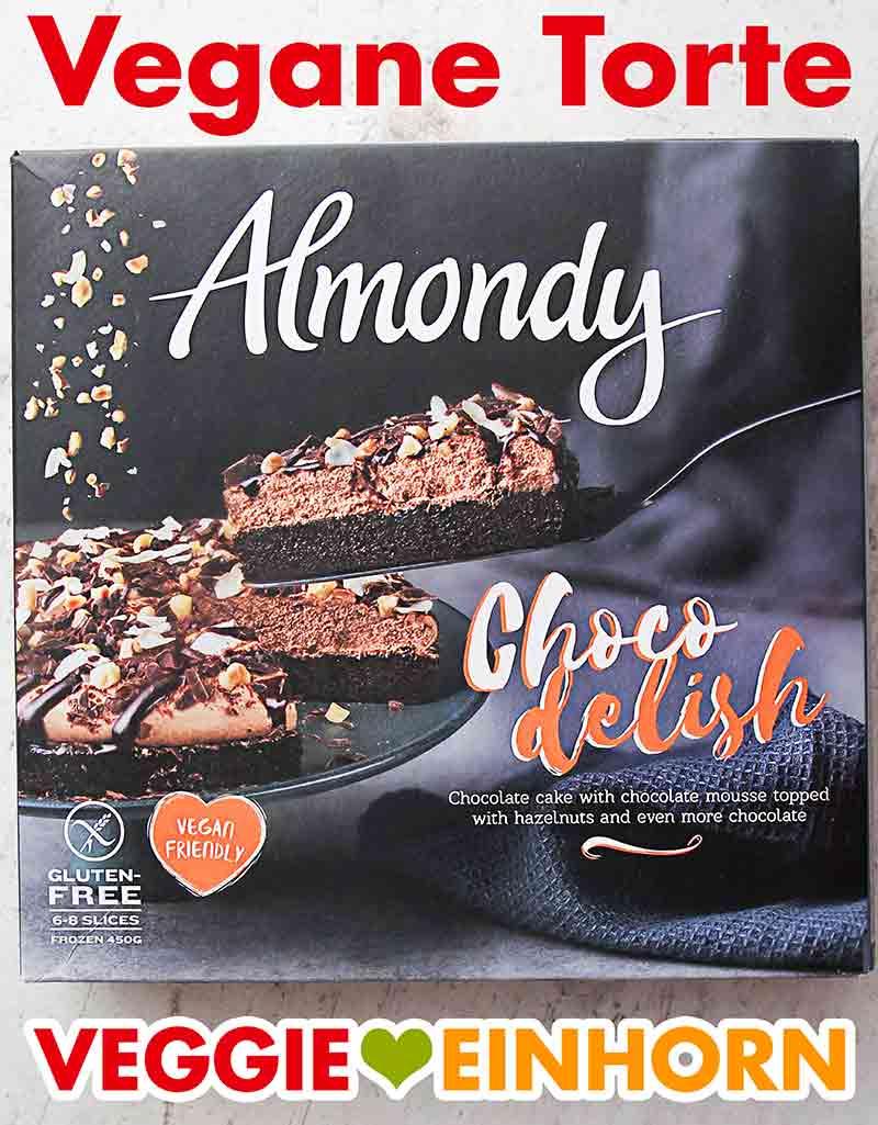 Eine Packung Choco Delish Torte von Almondy