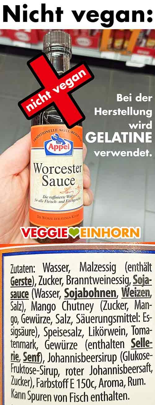 Appel Worcester Sauce im Rewe