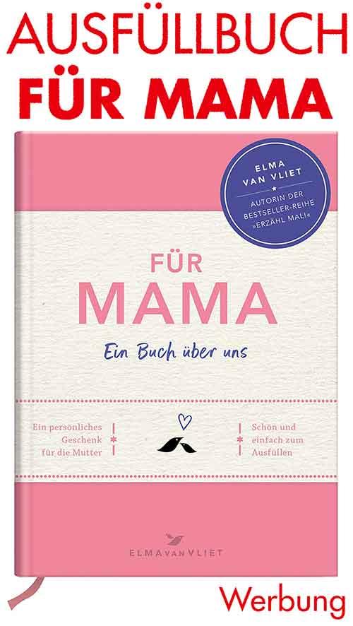 Aufüllbuch Für Mama Ein Buch über uns