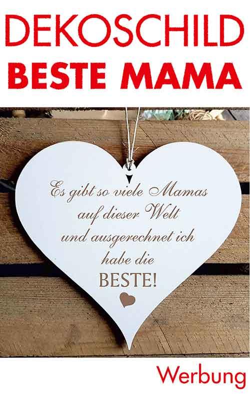 Holzanhänger Beste Mama zum Muttertag