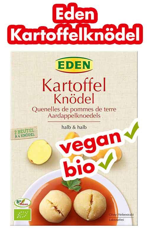Eden Bio Kartoffelknödel halb und halb