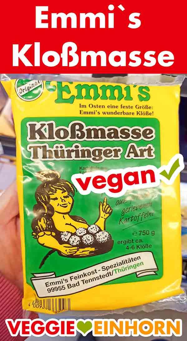 Emmi`s Kloßmasse Thüringer Art