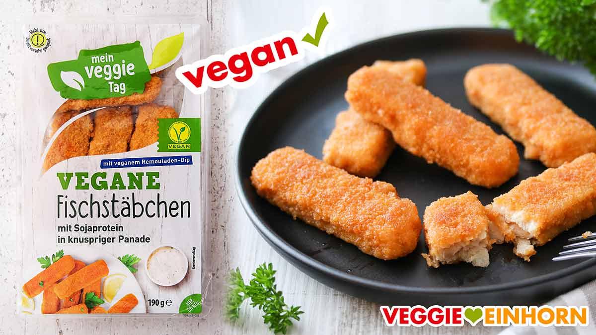 Vegane Fischstäbchen von Aldi