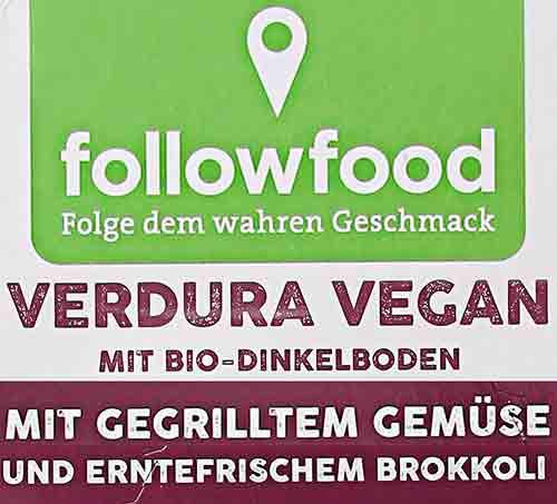 followfood Verdura Vegan
