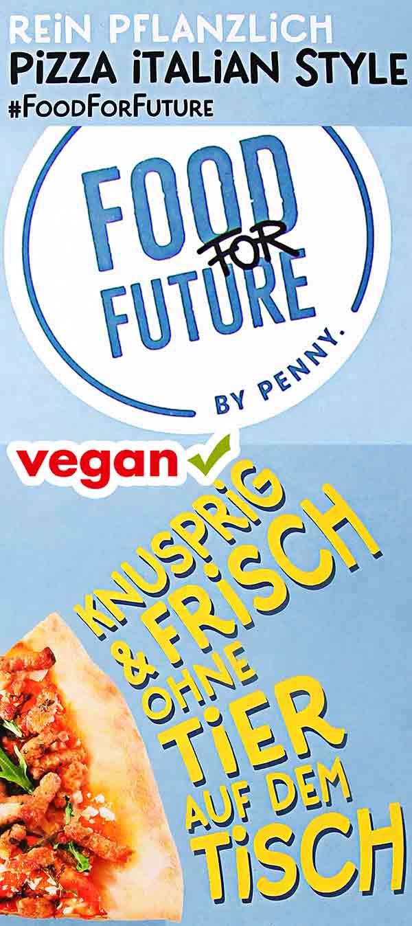 Food for Future Pizza Italian Style