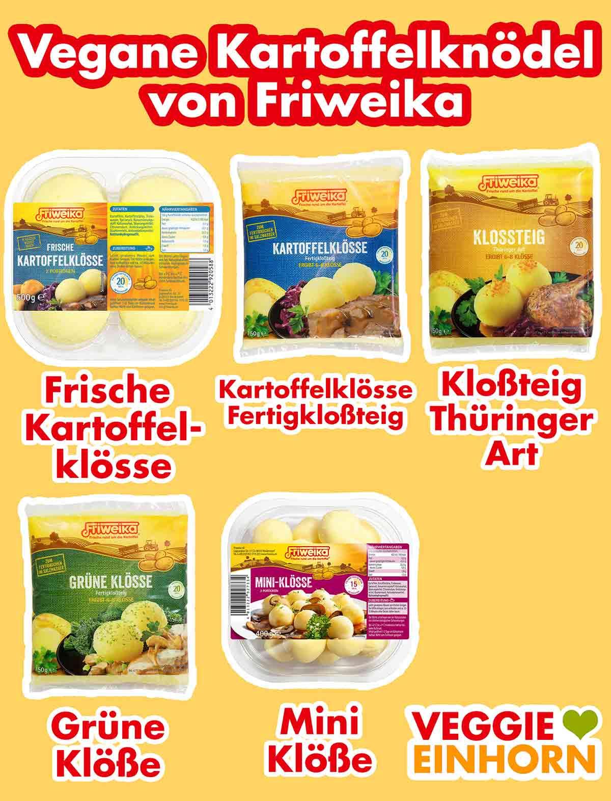 Vegane Kartoffelklöße von Friweika