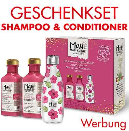 Geschenkset mit Shampoo und Conditioner zum Muttertag