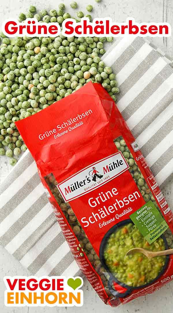 Grüne Schälerbsen