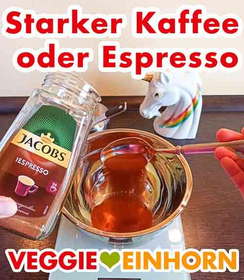 Instant Espresso Pulver