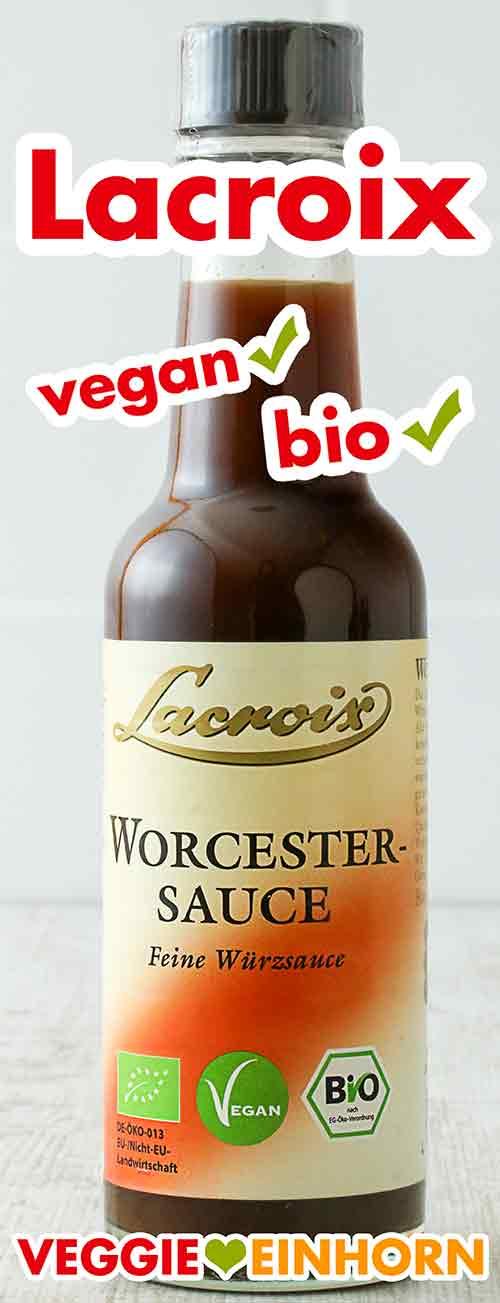 Bio Worcestersauce von Lacroix