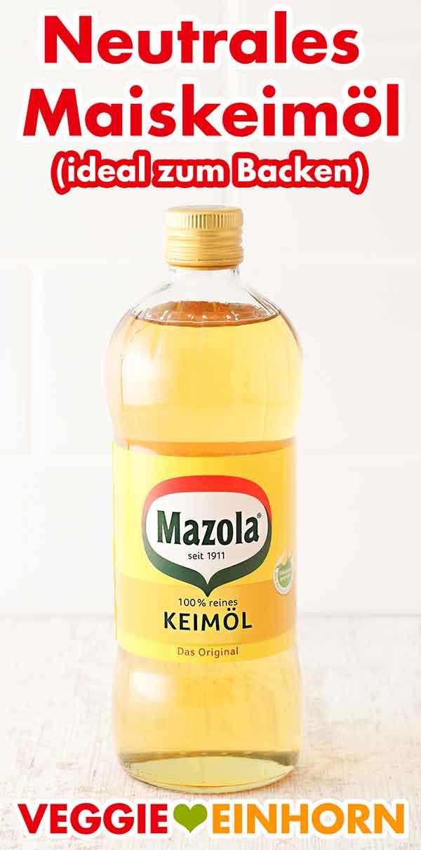 Eine Flasche Mazola Keimöl