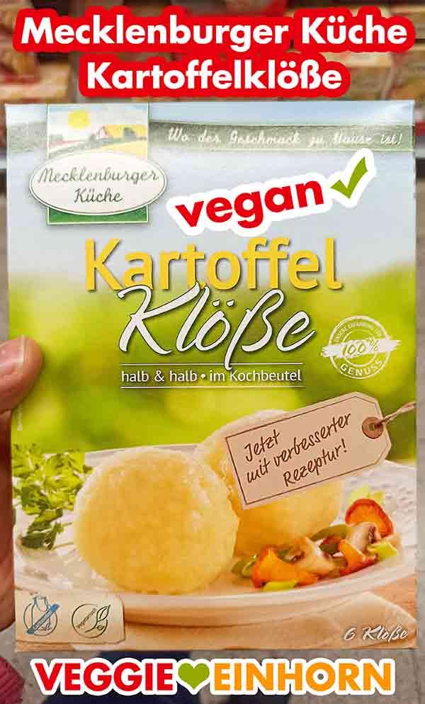 Mecklenburger Küche Kartoffelklöße halb und halb