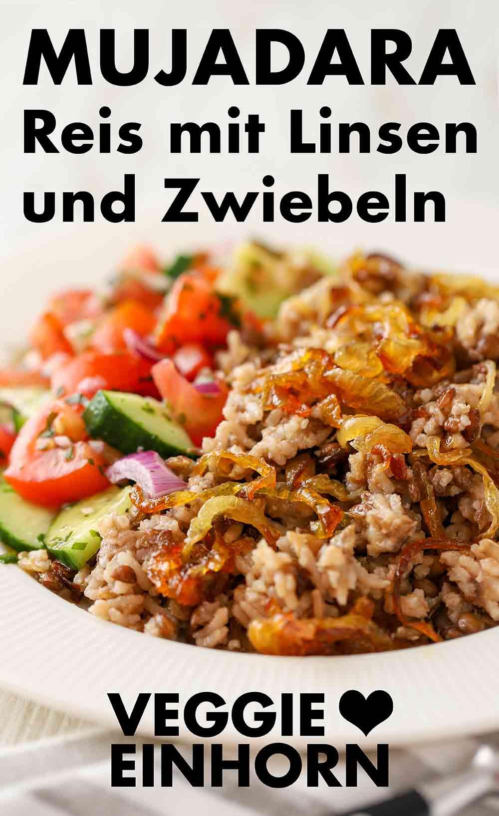 Mujadara mit Salat