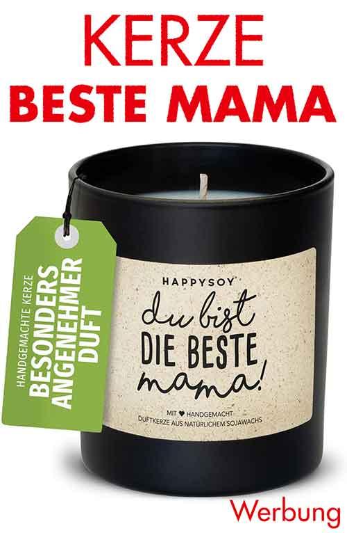 Kerze zum Muttertag