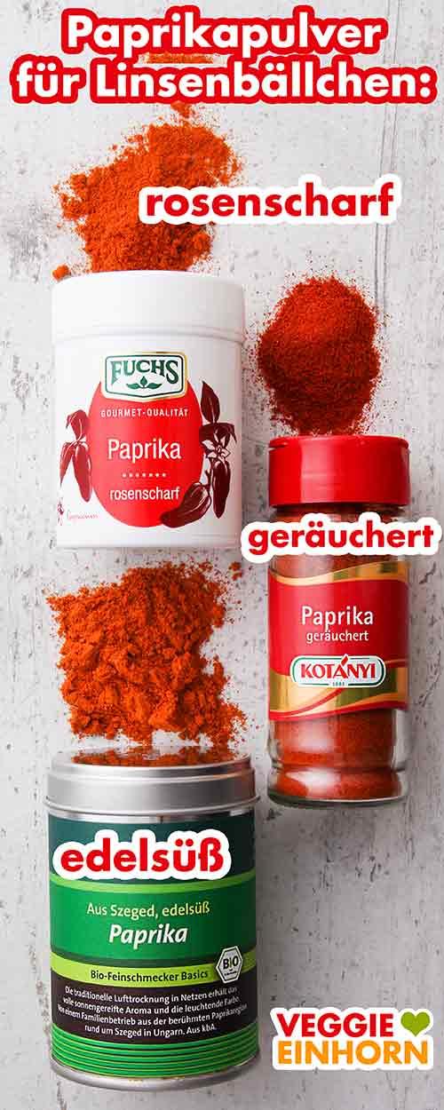 Paprika rosenscharf, Paprika geräuchert, Paprika edelsüß