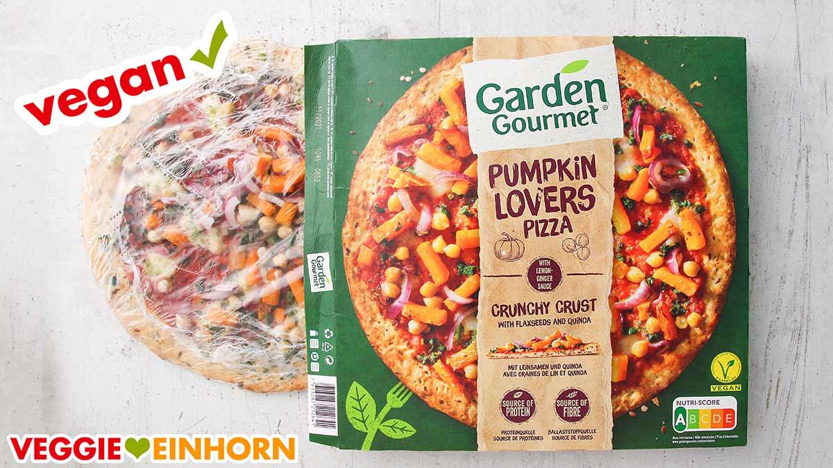 Vegane Pumpkin Lovers Pizza von Garden Gourmet