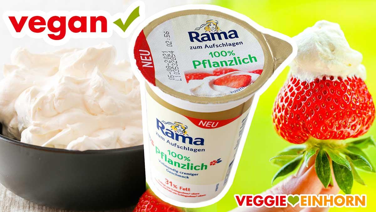 Vegane Schlagsahne von Rama
