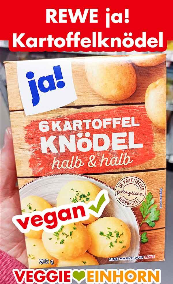 Rewe ja! Kartoffel Knödel halb und halb