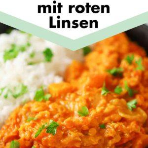 Rote Linsen Kürbiscurry