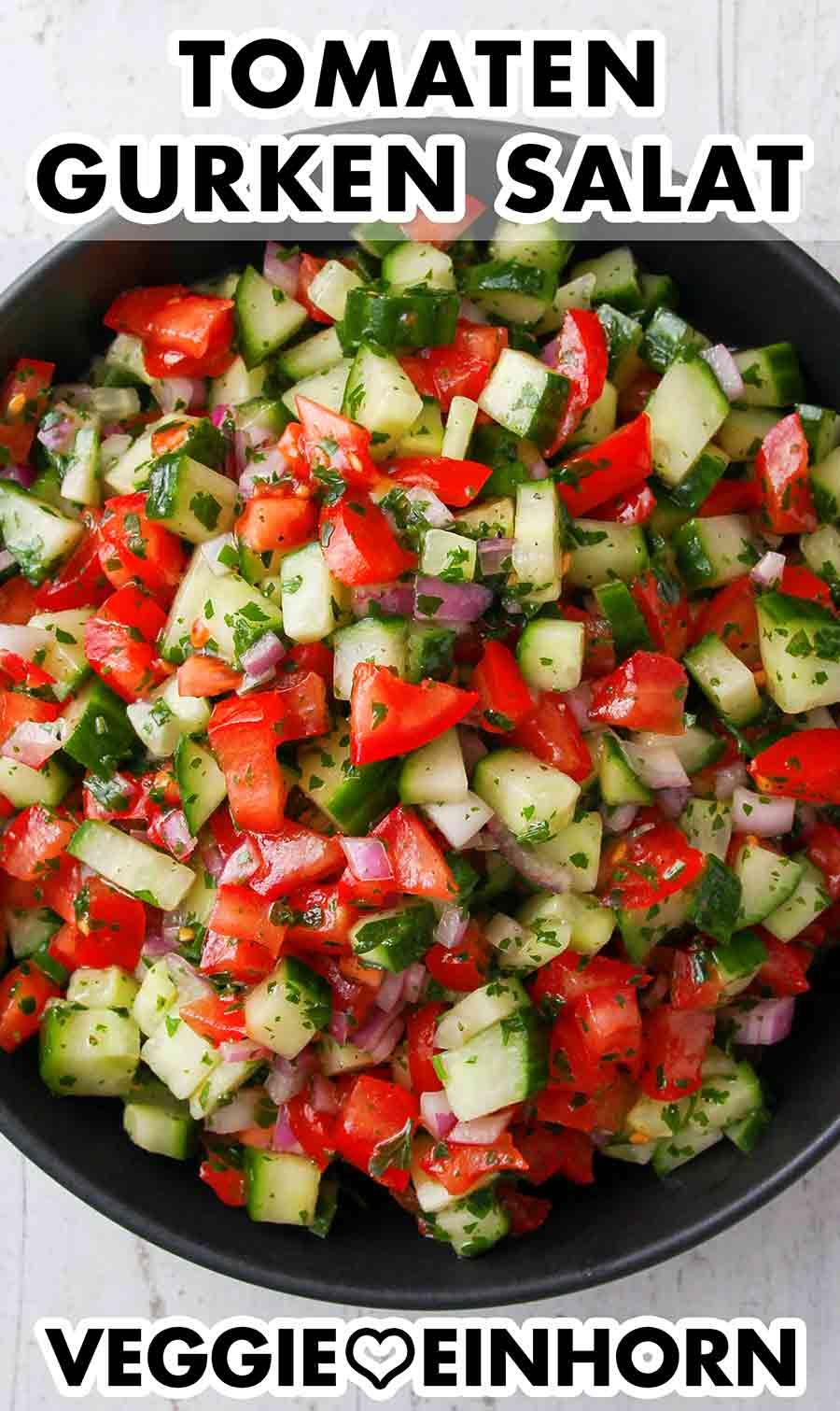 Gurken Tomaten Salat
