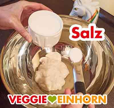 Ein Teelöffel Salz