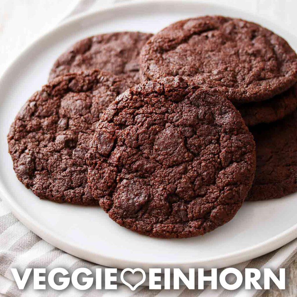 Vegane Schoko Cookies