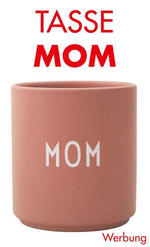 Tasse mit der Aufschrift Mom