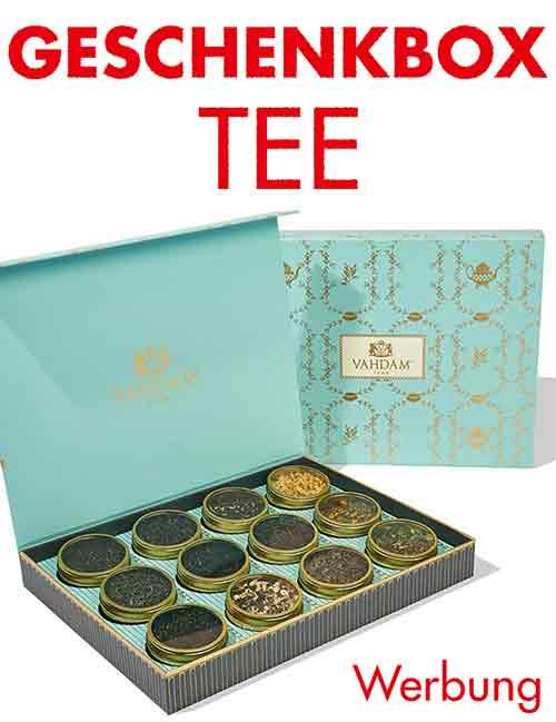 Tee Geschenkbox als Muttertagsgeschenk
