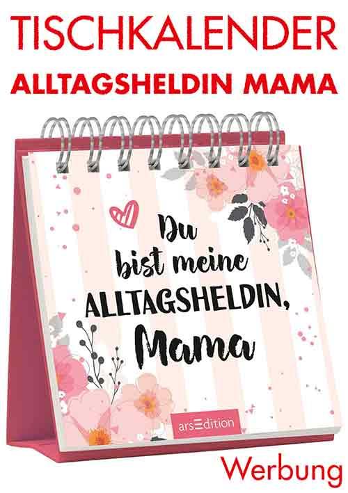 Tischkalender mit Sprüchen zum Muttertag