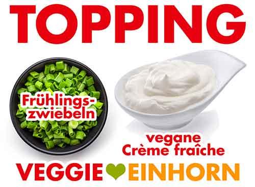 Topping für Chili sin Carne mit Linsen