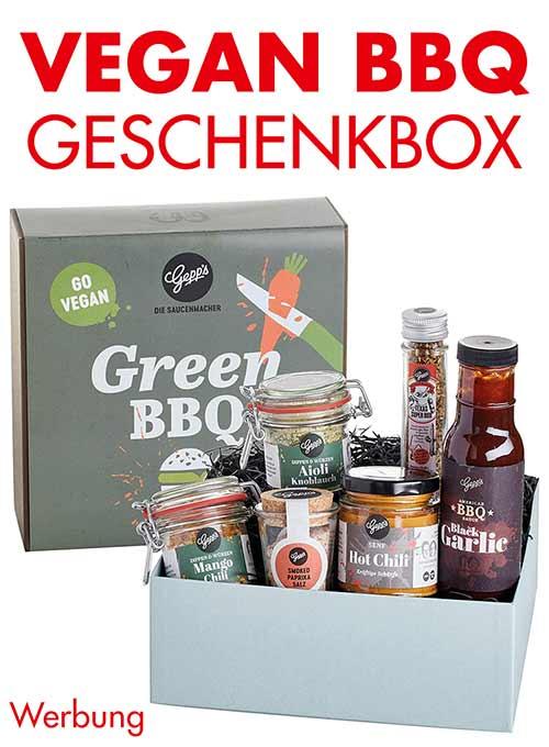 Geschenkbox Vegan Grillen