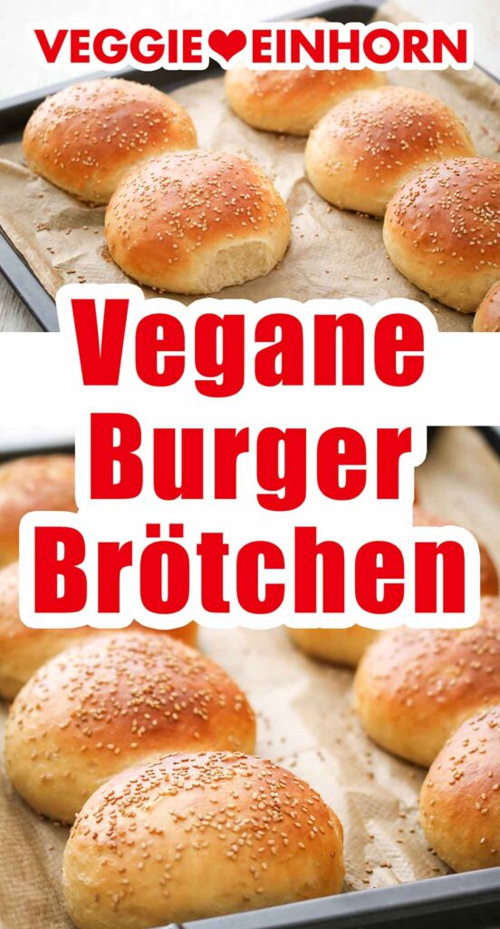 Vegane Hamburger Brötchen