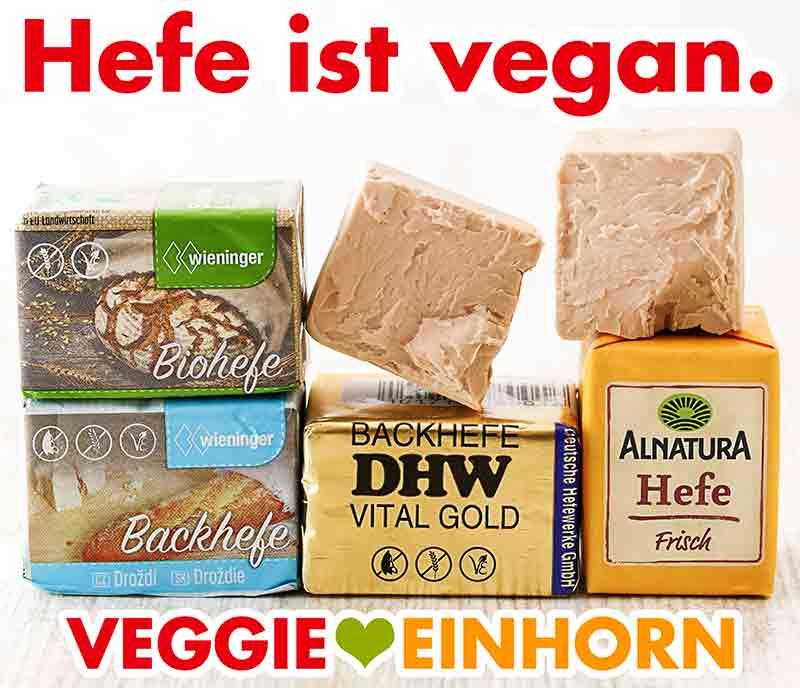 Vegane Hefe Würfel