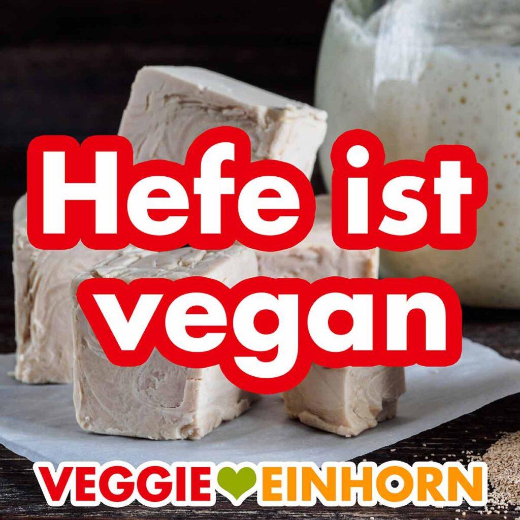 Vegane Hefewürfel