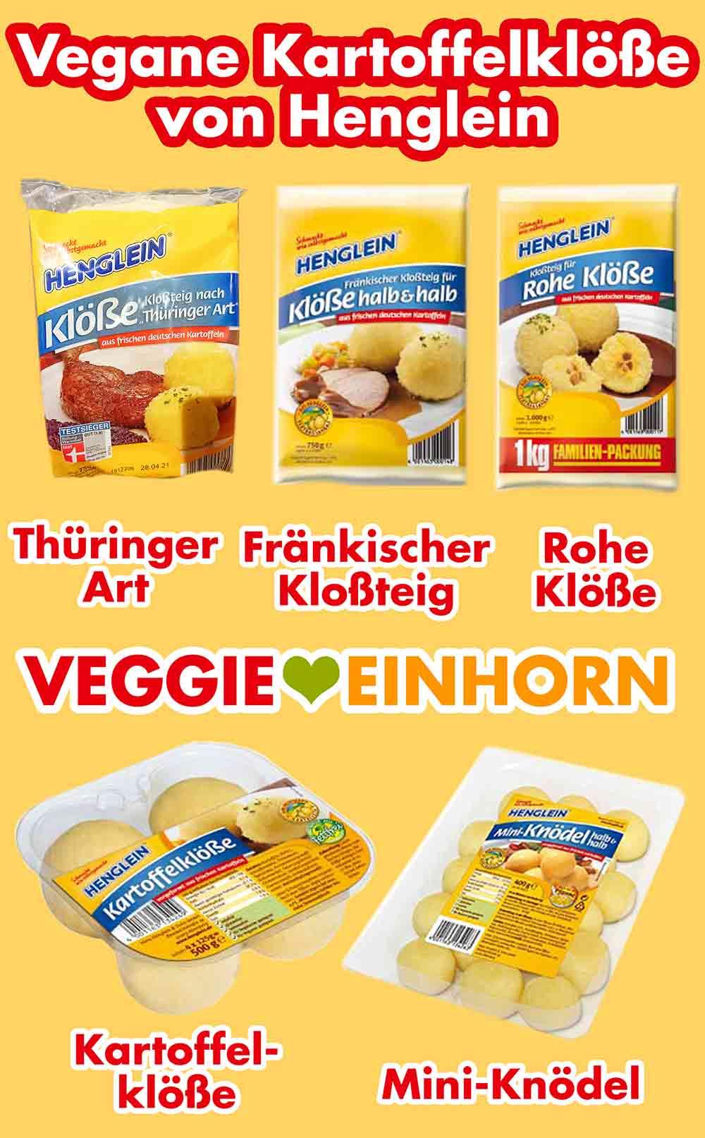 Vegane Kartoffelklöße von Henglein