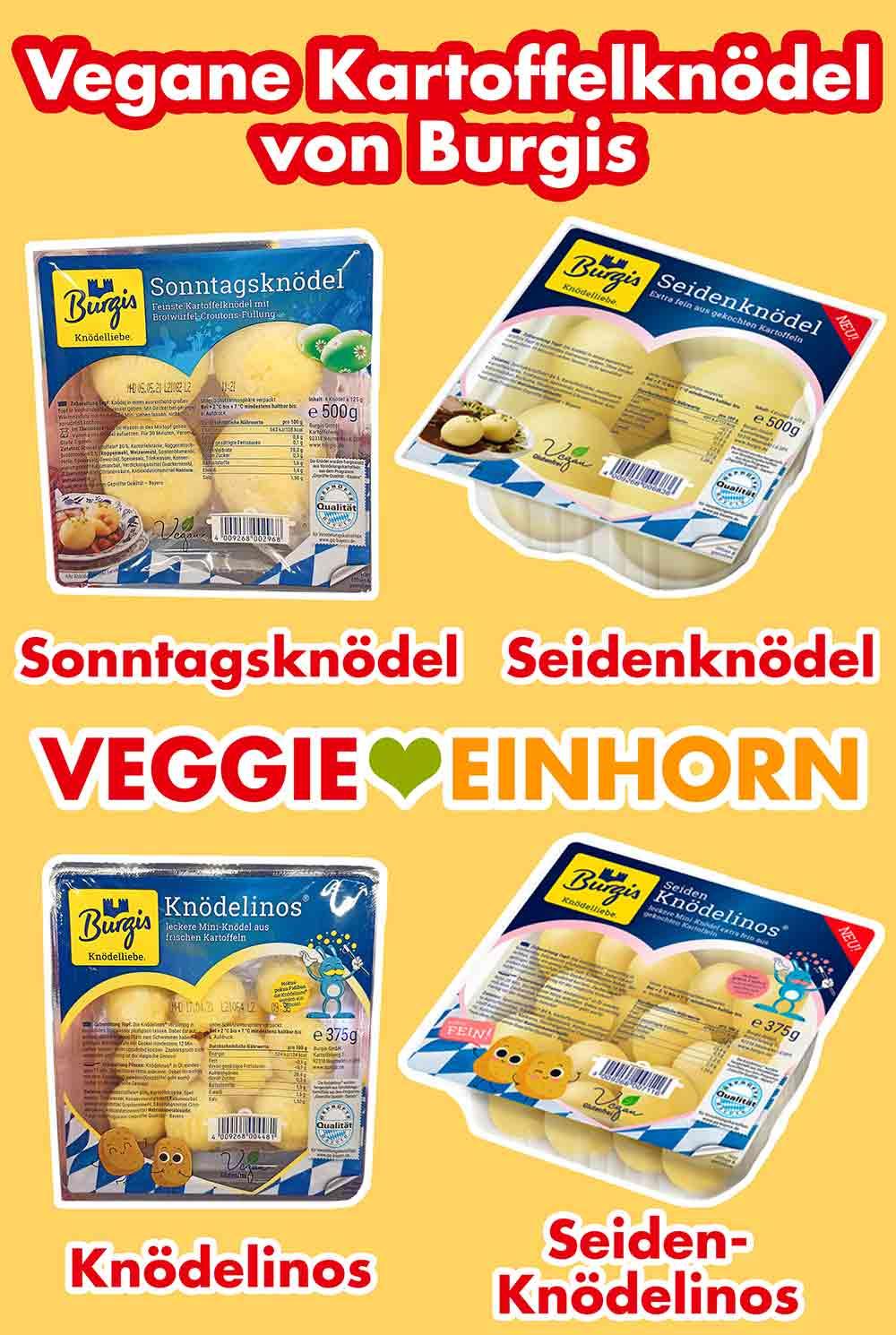 Vegane Kartoffelknödel von Burgis
