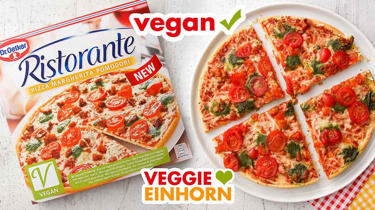 Vegane Pizza von Dr. Oetker