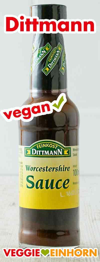 Vegane Worcestershire Sauce von Dittmann