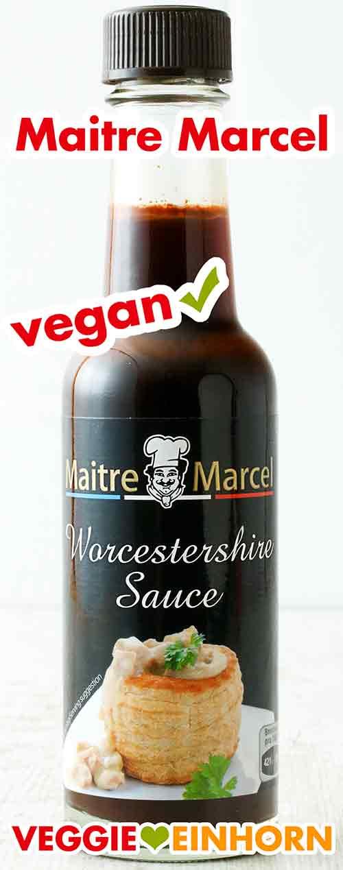 Maitre Marcel Vegane Worcestersauce